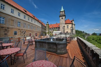 EA Chateau Hotel Hruba Skala**** - building of the castle