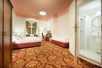 EA Chateau Hotel Hruba Skala**** - three-beded room