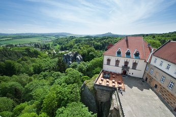 EA Chateau Hotel Hruba Skala**** - building of the castle, view of the surroundings