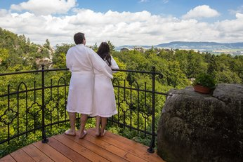 EA Chateau Hotel Hruba Skala**** - Eden Spa, relaxation terrace in Rock town