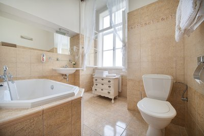 EA Chateau Hotel Hruba Skala**** - double wedding suite, bathroom